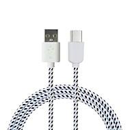 Cwxuan USB 3.1タイプC アダプターケーブル, USB 3.1タイプC to USB 2.0 アダプターケーブル オス―オス 1.8M(6フィート) 480 Mbps