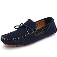 Férfi cipő Nappa Leather Ősz Tél Mokaszin Vitorlás cipők Kompatibilitás Hétköznapi Party és Estélyi Szürke Sárga Kék