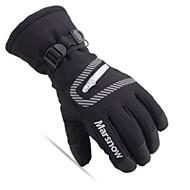 お買い得  手套-ウインター スキーグローブ 男女兼用 フルフィンガー 保温 防水 スキー ウィンタースポーツ ナイロン スキー 冬