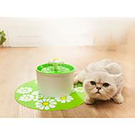 ネコ 犬 餌入れ/水入れ ペット用 ボウル&摂食 耐久 オレンジ グリーン ブルー