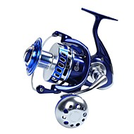 billiga Fiske-Fiskerullar Trolling Rullar Snurrande hjul 4.7:1 Växlingsförhållande+13 Kullager Hand Orientering utbytbar Sjöfiske Spinnfiske Jiggfiske