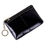 Women Bags Cowhide Coin Purse Zipper for Event/Party Office & Career All Season Purple Fuchsia Coffee Camel Royal Blue