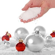 4pcs fake mágica neve instantânea esponjosa para o casamento de natal neve branca de natal