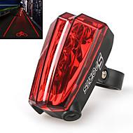 Fietsverlichting Achterlicht fiets Laser LED Wielrennen Laser AAA Lumens Batterij Fietsen