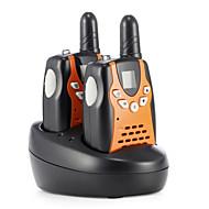 3651 par mini walkie-talkie uhf oppladbare par familie utendørs lag turisme kan velge å bruke.