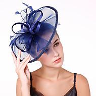 Til Net Perje Fascinators Cvijeće Headpiece 1 Vjenčanje Zabava / večer Glava