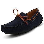 Férfi cipő Gumi Tavasz Ősz Mokaszin Vitorlás cipők Kompatibilitás Szürke Barna Kék