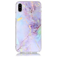 billiga Mobil cases & Skärmskydd-fodral Till Apple iPhone X iPhone 8 IMD Mönster Skal Marmor Mjukt TPU för iPhone X iPhone 8 Plus iPhone 8 iPhone 7 Plus iPhone 7 iPhone
