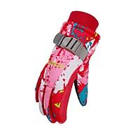 Winter Handschoenen Kinderen Houd Warm waterdicht Regenbestendig Printbaar Polyester Skiën Winter