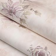 billige Tapet-Blomstret Hjem Dekor كلاسيكي Tapetsering, U-vevet stoff Materiale selvklebende nødvendig bakgrunns, Tapet