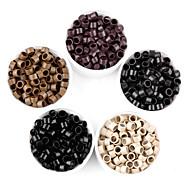 1000Pcs 4.0*3mm Loop Micro Nano Rings/Links/Beads For Nano Rings Hair Extensions