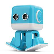 hesapli Robotlar, Canavarlar ve Uzay Oyuncakları-RC Robotu F9 Yurtiçi ve Kişisel Robotlar 2.4G ABS Mini şan Dans APP Kontrol LED Hoparlör Müzik ile Kılıf Dahil Ultrasonik Evet