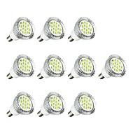 billige Spotlys med LED-10pcs 5W 380 lm E14 LED-spotpærer E14 / E12 16 leds SMD 5630 LED Lys Hvit AC 85-265V