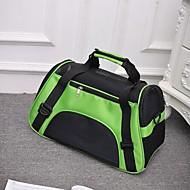 Kočka Pes batoh Domácí mazlíčci Nosiče Přenosný Skládací Prodyšné Jednobarevné Fialová Zelená Modrá