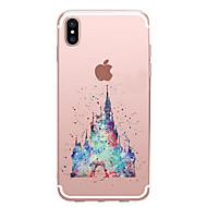 用途 iPhone X iPhone 8 ケース カバー クリア パターン バックカバー ケース カートゥン ソフト TPU のために Apple iPhone X iPhone 8 Plus iPhone 8 iPhone 7プラス iPhone 7 iPhone 6s