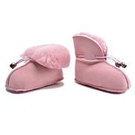 赤ちゃん 靴 ファー 秋 冬 コンフォートシューズ 赤ちゃん用靴 ブーツ 用途 カジュアル シルバー パープル フクシャ コーヒー ピンク