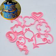 Dessert dekoratører Nyhet Kake Plastikker Maling