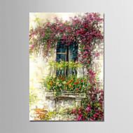 billige -Hånd-malede Landskab Vertikal,Moderne Et Panel Kanvas Hang-Painted Oliemaleri For Hjem Dekoration