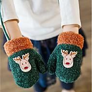 女の子用 手袋,ニット 冬