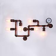 tanie Kinkiety Ścienne-retro industrialna metalowa kinkiet jadalnia pokój i bar z 6 lekkich kinkietów