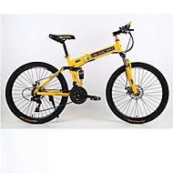 cheap -Folding Bike Mountain Bike Cycling 21 Speed 26 Inch / 700CC Double Disc Brake Springer Fork Hard-tail Frame Monocoque Ordinary / Standard