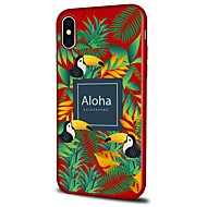 billiga Mobil cases & Skärmskydd-fodral Till Apple iPhone X iPhone 8 Plus Mönster Skal Landskap Djur Mjukt TPU för iPhone X iPhone 8 Plus iPhone 8 iPhone 7 Plus iPhone 7