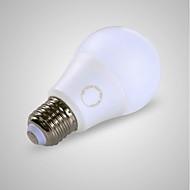 billige Globepærer med LED-GMY® 1pc 7W 650/520 lm E27 LED-globepærer A60(A19) 7 leds SMD LED Lys Varm hvit Kjølig hvit AC 220-240V