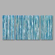 halpa -Maalattu Abstrakti Pysty,Moderni Kanvas Hang-Painted öljymaalaus Kodinsisustus 3 paneeli
