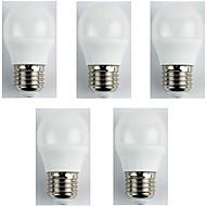 billiga Belysning-5pcs 4 W 310 lm E27 LED-globlampor G45 6 LED-pärlor SMD 3528 Varmvit 180-240 V
