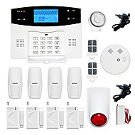 billiga Sensorer och larm-433MHz SMS Telefon 433MHz GSM TELEFON SMS larm telefon~~POS=TRUNC Alarm Sound Alarm Lokalt Alarm E-mailalarm Home Alarm Systems