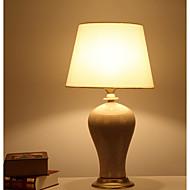 billige Lamper-Enkel Øyebeskyttelse Bordlampe Til Stue Keramikk 220V Hvit