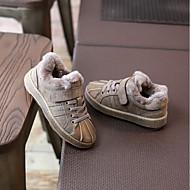 男の子 靴 本革 冬 コンフォートシューズ スニーカー のために カジュアル ブラック グレー キャメル