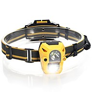 cheap Flashlights & Camping Lanterns-Headlamps Safety Lights Headlamp Straps 120 lm 1 Mode LED Camping/Hiking/Caving Everyday Use Cycling/Bike Hunting