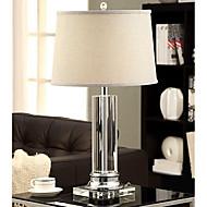billige Lamper-Enkel Traditionel / Klassisk Øyebeskyttelse Bordlampe Til Glass 220V Hvit