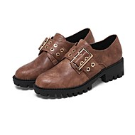 Women's Shoes Customized Materials Spring Fall Gladiator Comfort Fashion Boots Loafers & Slip-Ons Flat Round Toe Closed Toe Booties/Ankle