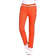 hesapli Golf Giysileri-Kadın's Uzun Pantolon Golf Pantalonlar Trainer Hava Alan Golf