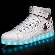 Muškarci Cipele Prilagođeni materijali / Umjetna koža Jesen / Zima Udobne cipele / Svjetleće tenisice Sneakers Čizme gležnjače / do