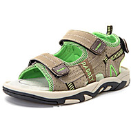 baratos Sapatos de Menino-Para Meninos Sapatos Couro Ecológico Outono Conforto Sandálias para Cinzento / Verde Claro / Azul Real