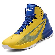 Shoes Rubber Spring / Fall Comfort Athletic Shoes Basketball Shoes Black / Red / Black / Blue / Black / Yellow