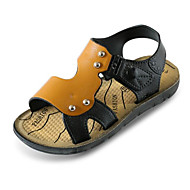 baratos Sapatos de Menino-Para Meninos Sapatos Couro Ecológico Verão Conforto Sandálias para Marron / Azul