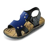 tanie Obuwie chłopięce-Dla chłopców Obuwie PU Lato Comfort Sandały na Brown / Niebieski