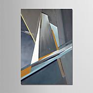voordelige -Hang-geschilderd olieverfschilderij Handgeschilderde - Abstract Hedendaags Modern Kangas