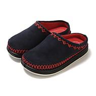 tanie Obuwie chłopięce-Dla chłopców Buty Materiał Wiosna Jesień Wulkanizowane buty Comfort Buty płaskie na Casual Dark Blue Różowy Granatowy
