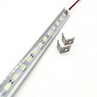 お買い得  LEDストリップライト-ZDM® 144 LED 1xハードライトストリップ 温白色 クールホワイト DC 12V