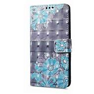 billiga Mobil cases & Skärmskydd-fodral Till Vivo X20 Plus X20 Korthållare Plånbok med stativ Lucka Magnet Mönster Fodral Blomma Hårt PU läder för vivo X20 Plus vivo X20