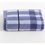 Frischer Stil Waschtuch,Schottenstoff/Kariert Gehobene Qualität Reine Baumwolle Gewebt Handtuch