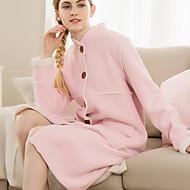 billige Badekåper-Frisk stil Badekåpe, Ensfarget Overlegen kvalitet 100% Polyester 100% Polyester Håndkle