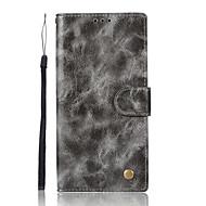 billiga Mobil cases & Skärmskydd-fodral Till Sony Xperia XA Ultra Sony Sony Xperia X Performance Sony Xperia XA Xperia XZ1 Xperia XA1 Korthållare Plånbok med stativ Lucka