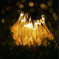 お買い得  LEDライトストリップ-GMY® 6m ストリングライト 30 LED 6Mストリングライト 温白色 装飾用 <5 V 1セット / IP65