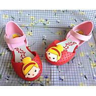 baratos Sapatos de Menina-Para Meninas Sapatos PVC Primavera / Outono Conforto / Plástico Sandálias para Roxo / Rosa claro / Azul Claro